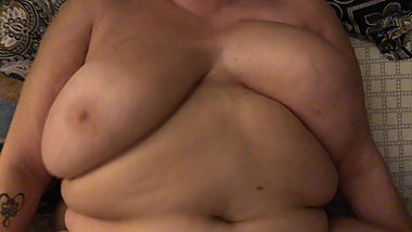 Mature Puerto Rican BBW and young man