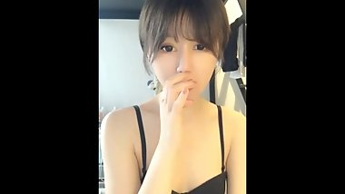 Chinese cute girl video chat debut