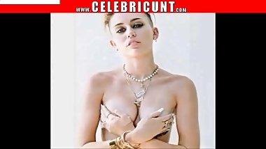 Mental Celeb Miley Cyrus Naked Collection