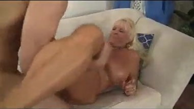 Granny Happy To Fuck With A Young Man