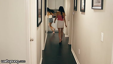 WebYoung Curious Teen Virgins Agree to Play Together