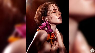 Emma Watson Jerk Off To The Beat Challenge Very Hard