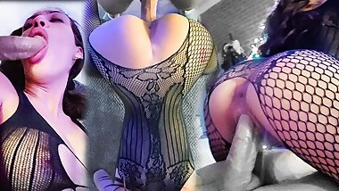 If I fuck you in FISHNETS will you feed my your CUM?