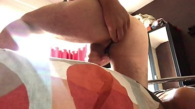 prostate massaging my tight ass and wanking