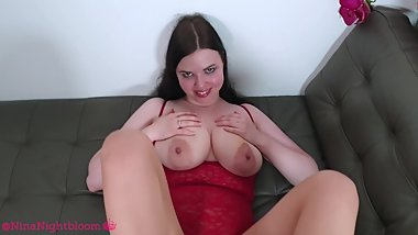 4K POV cum all over my pantyhose