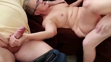 Mature couple with young stud