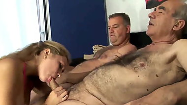 2 Old Hairy Man Fucking Young Wife