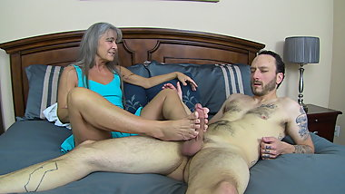 Milf Drains Young Man's Balls TRAILER