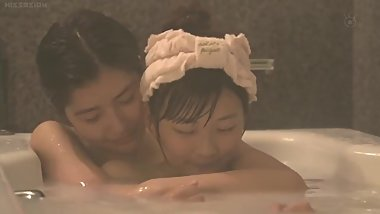 Japanese girl has a thing for her younger stepsister
