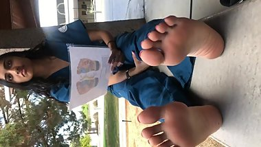 CALIFORNIA NURSING STUDENT FEET PROJECT