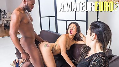 Las Folladoras - Latina Babe Jade Presley Desire For BBC On Amateur Casting