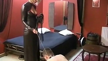 Young French Dominatrix And Her Moneyslave