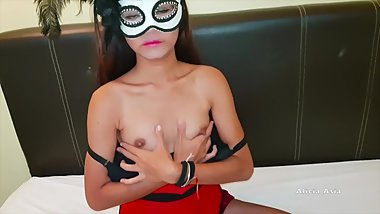 thai student play nipples want to earn money - alicia asia