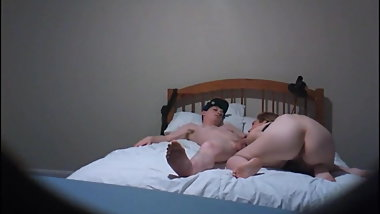 Amateur mom creampied by younger boy