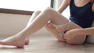 White stockings with Slime