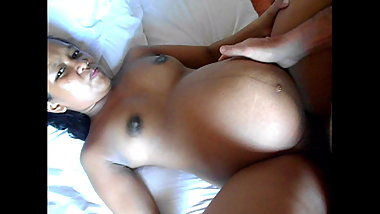 pregnant young asian Regie enjoy sex